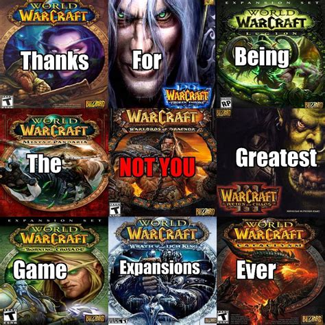 Wow Khadgars Essays by Wow Expansions Not You T 250 No Your Meme