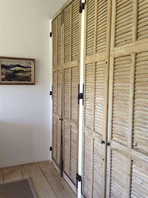 Porte Placard Persienne Bois by Portes Placards Anciens Volets Salon