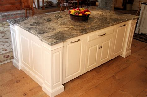 Install Kitchen Island Custom Kitchen Island Cabinets With Seating In Wilbraham Ma Custom Wood Designs Inc