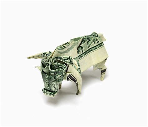 Origami Using Dollar Bills - dollar bill origami