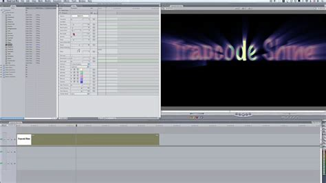 final cut pro getting started red giant getting started with trapcode shine in final