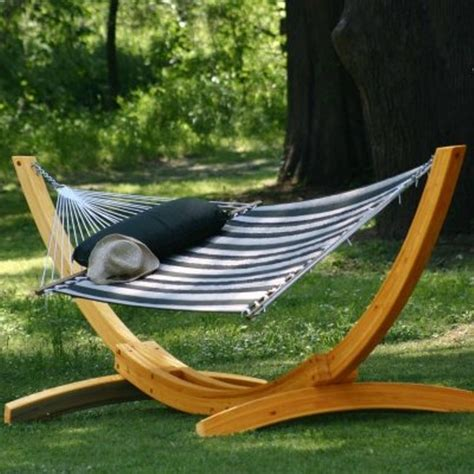 create a relaxing area in your backyard with a hammock