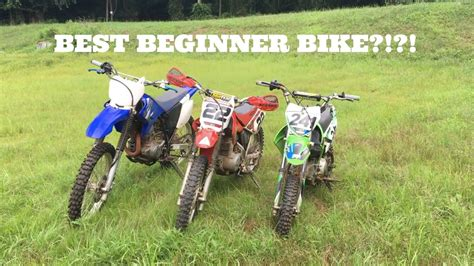 motocross bikes for beginners what is the best beginner dirt bike rider series ep