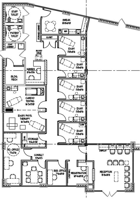 medical office floor plans overwhelming medical office floor plans 187 picture 1087