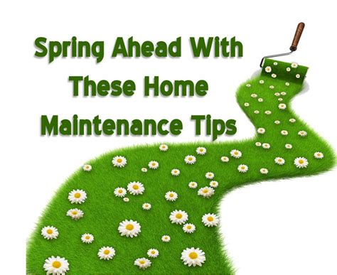spring home tips spring ahead with these home maintenance tips