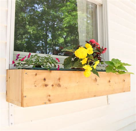 Window Planter Boxes Diy by 10 Adorable Diy Planter Box Ideas