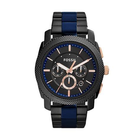 Jam Tangan Wanita Fossil F1412a Date Stainless jual fossil machine chronograph jam tangan pria fs5164