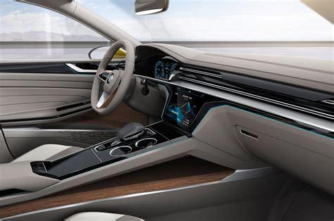 volkswagen concept interior volkswagen sport coupe concept gte first look motor trend
