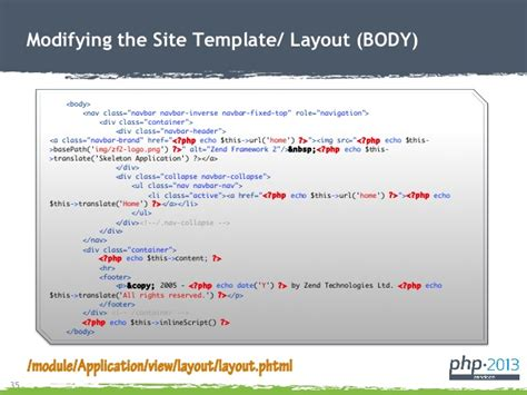 zend framework 2 set layout zend framework 2 for newbies