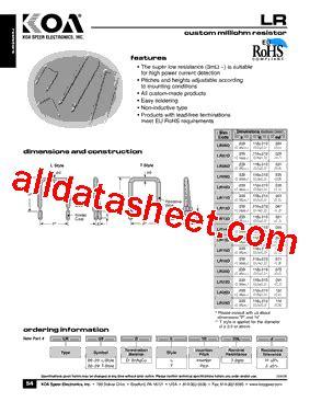 koa resistor datasheet koa resistors datasheet 28 images koa resistor pdf 28 images wk732jtte33l0f datasheet pdf
