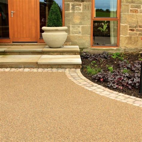 resin bonded driveways patios and pathways resin bound