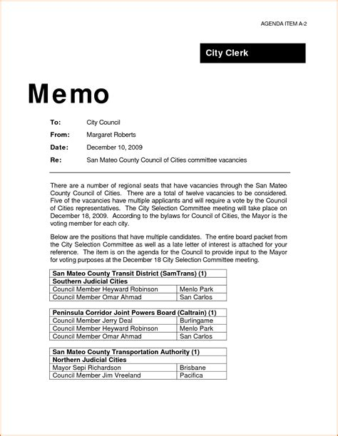 5 professional memo template authorizationletters org