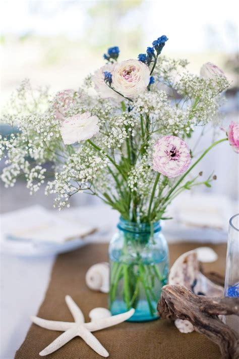 107 best Beach Wedding Centerpieces images on Pinterest