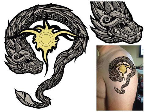aztec serpent tattoo designs quetzalcoatl aztec snake