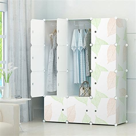 portable clothes closet wardrobe by cosyhome freestanding