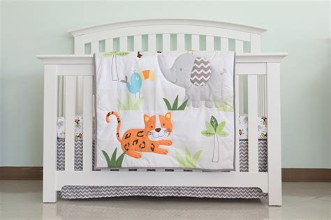 Crib Cuddle by Cuddle Time Amazonia Bedding Crib Set 3 Pieces Ideal Baby