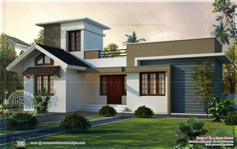 home exterior design kerala home design square feet box type exterior home kerala