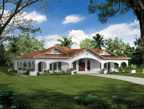 spanish ranch house plans plano de casa de estilo espa 241 ol solo planos com