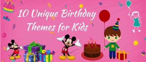 uncommon themes in stories creative party theme ideas for your kids next birthday