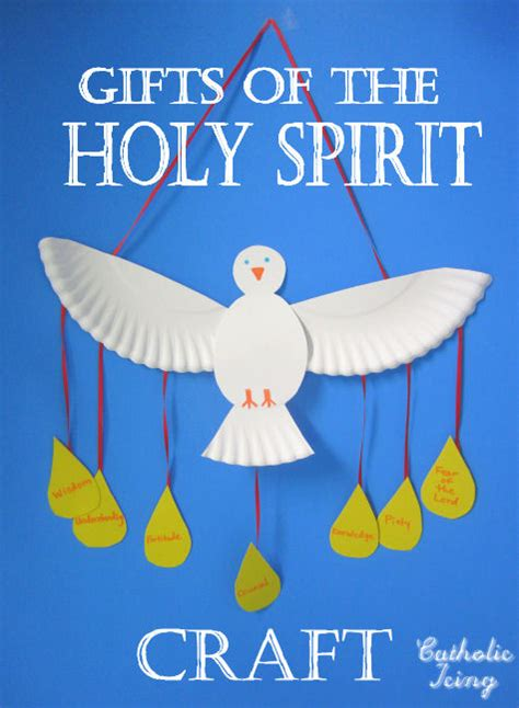Holy Spirit Craft Make A Dove From A Paper Plate