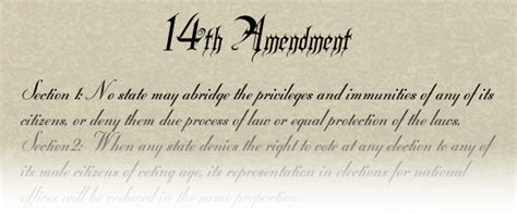 Amendment 14 Section 1 by Ms Welch S Social Studies Class Amendments 13 14 15