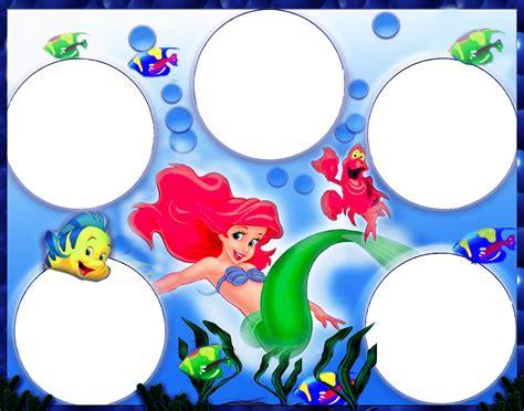 imagenes infantiles png gratis marco foto sirenita descargar marcos