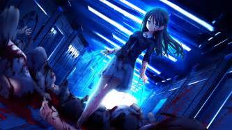 Nightcore Lights Aqua Vn Hd Wallpapers Wallpapersin4k Net