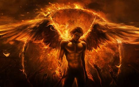 wallpaper dark fire fire angel wallpaper and background image 1680x1050 id