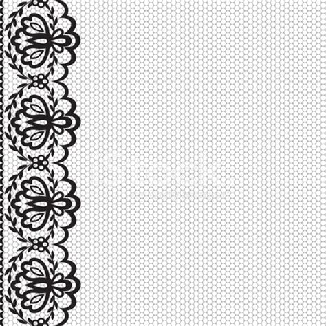 Wedding Dress Lace Border by Lace Border Stock Vector Freeimages
