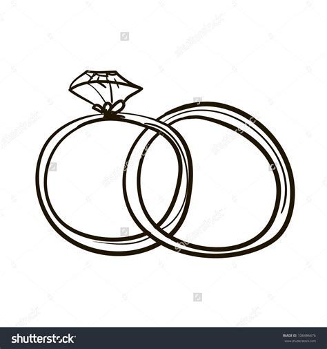 Two Wedding Rings by Two Wedding Rings Clipart Bbcpersian7 Collections