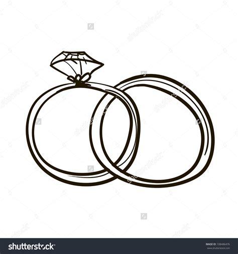 Eheringe Zeichnung by Wedding Ring Silhouette Clip 46