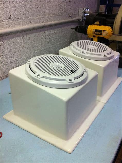 undergunnel speaker boxes the hull truth boating and - Boat Speaker Box