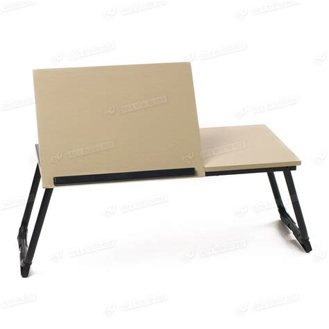 Folding Laptop Desk Portable Folding Stand Laptop Desk Wooden Bed Tray Computer Notebook Table Ebay