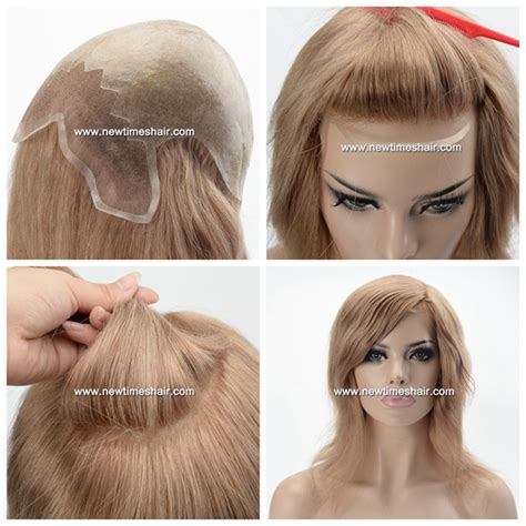 thin hair wigs for women full thin skin cap wig with lace front