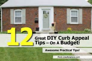 diy curb appeal 12 great diy curb appeal tips on a budget