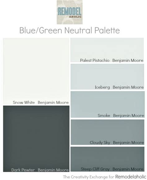 most popular and best selling paint colors neutral palette blue green and house