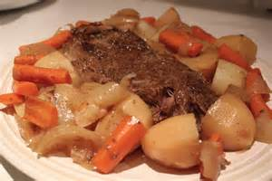 near to nothing beef pot roast with gravy
