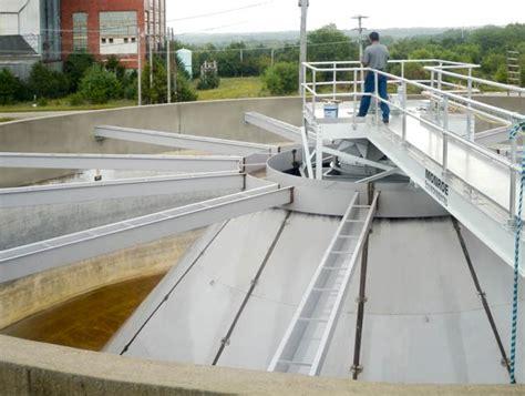 circular clarifiers thickeners environmental