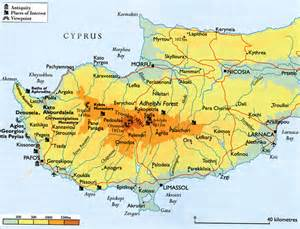 Credit Cards For Students With No Credit History by Paphos Cyprus Map