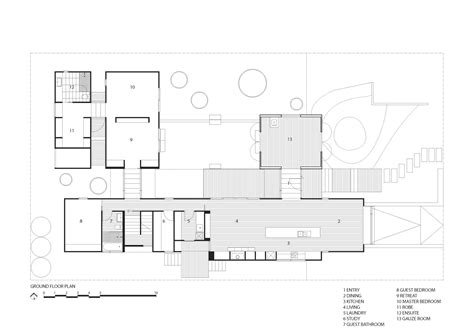 the burrow floor plan a beautiful seaview house by jackson clements burrows