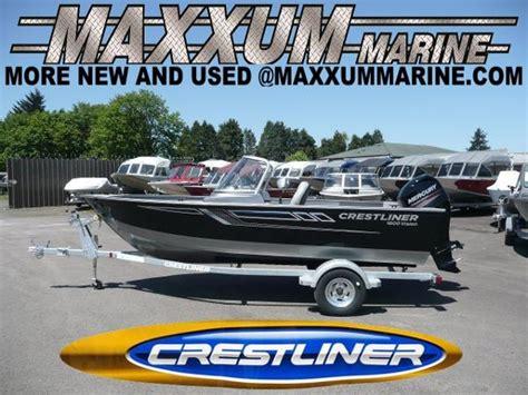boat parts eugene oregon 2017 crestliner 1600 vision eugene oregon boats