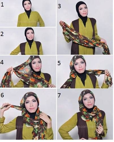tutorial hijab ayyih tutorial hijab feminim1