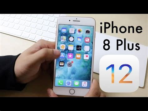ios 12 official on iphone 8 plus review