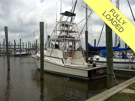 topaz sport fishing boats 1983 38 0 quot topaz 38 sportfish command bridge