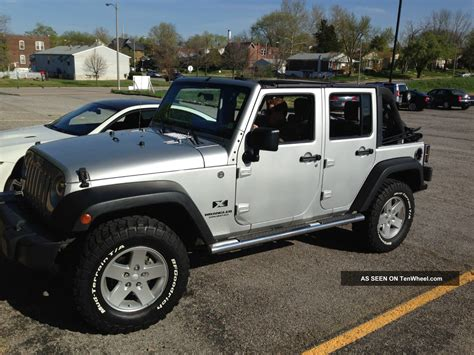 Jeep Wrangler With Lift Kit 2008 Jeep Wrangler Unlimited X Lift Kit Upgraded Steel