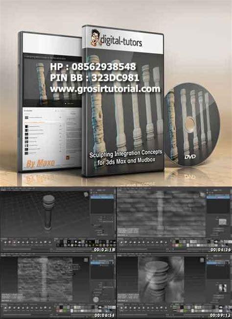jual tutorial zbrush autodesk 3ds max jual tutorial termurah dan update