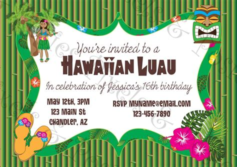 custom printable party invitation print your own invite