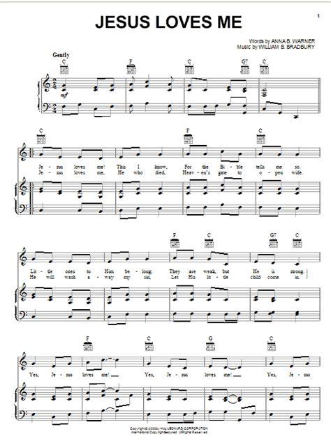printable lyrics jesus loves me anna b warner search results sheet music direct