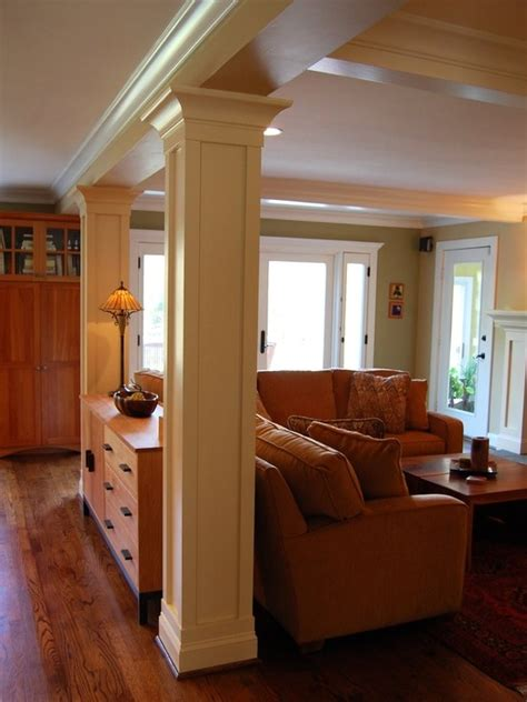 remodel a room support columns design pictures remodel decor and ideas