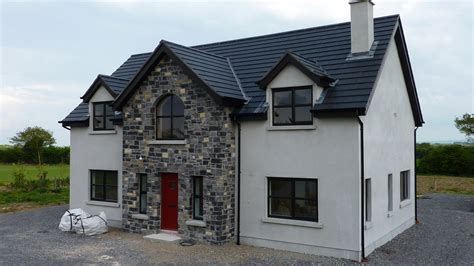 story and half house plans one and half story house plans ireland